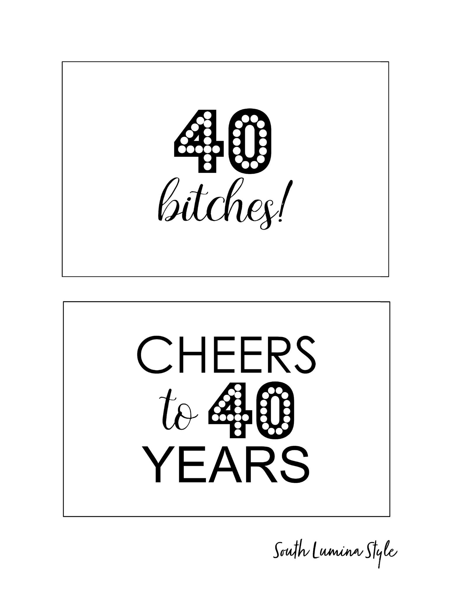 Diy Printable Adult Birthday Party Signs   Party Time   Pinterest - Free Printable Party Signs