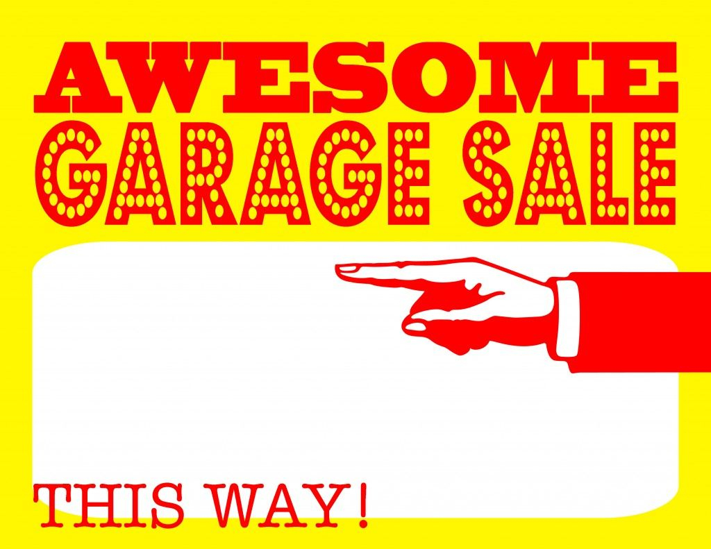 Diy Printable Awesome Garage Sale Signs For Our Upcoming Community - Free Printable Yard Sale Signs