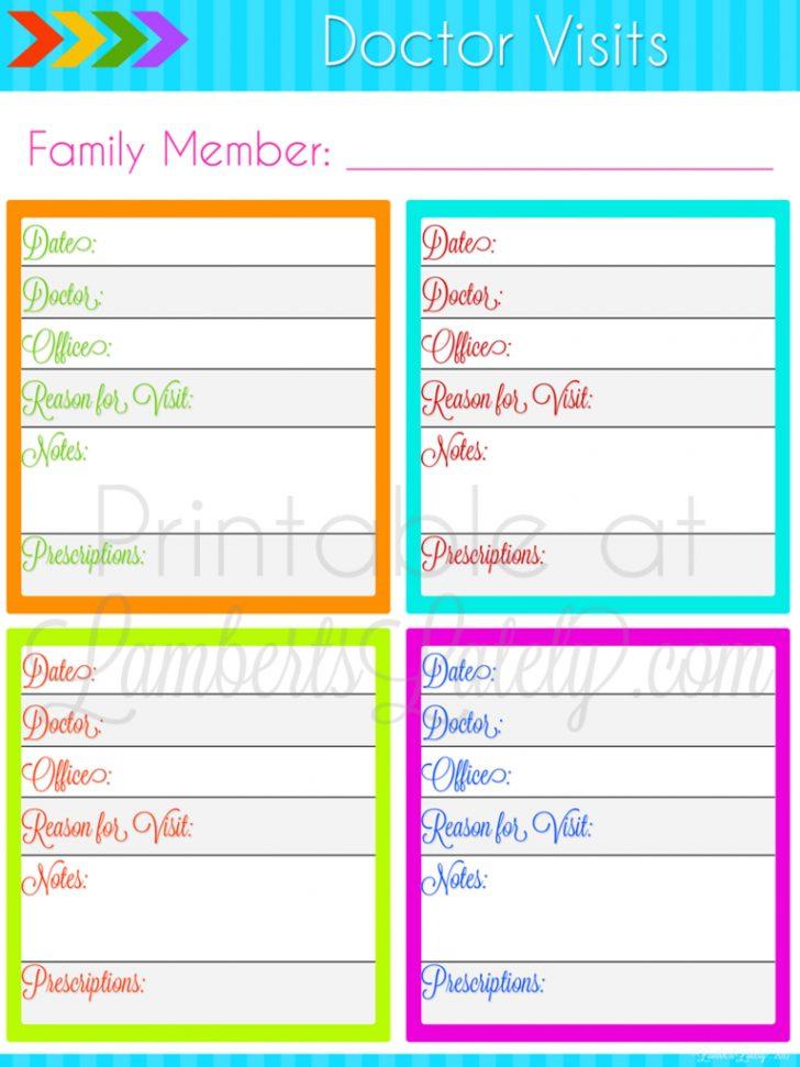 Free Printable Home Organizer Notebook