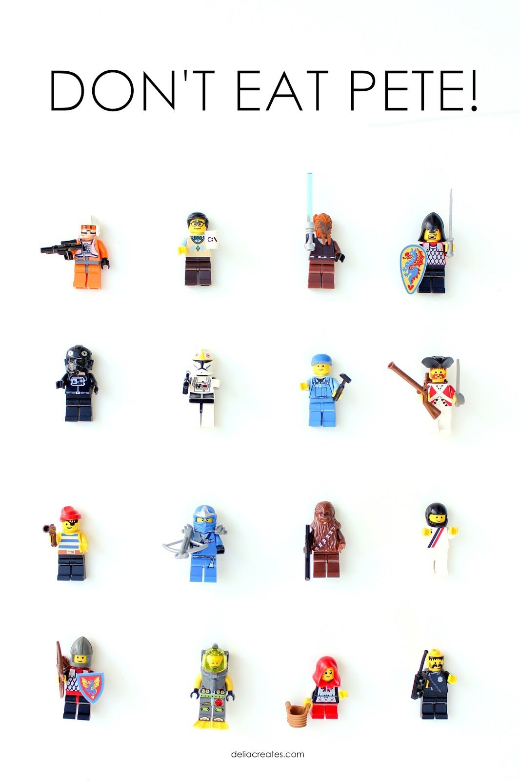Don't Eat Pete! Game From Lego Birthday Party #2 And More Free - Don T Eat Pete Free Printable