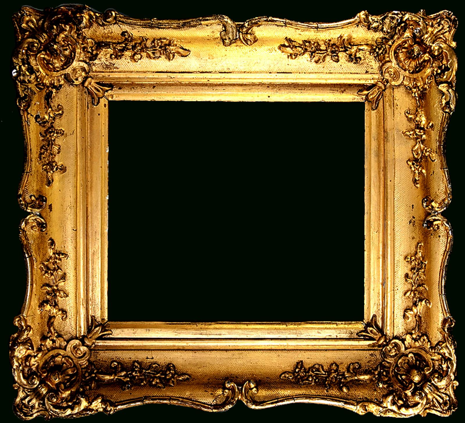 Doodlecraft: Vintage Gold Gilded Frames Free Printables! - Free Printable Photo Frames