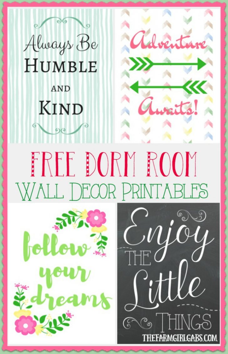 Free Printable Decor