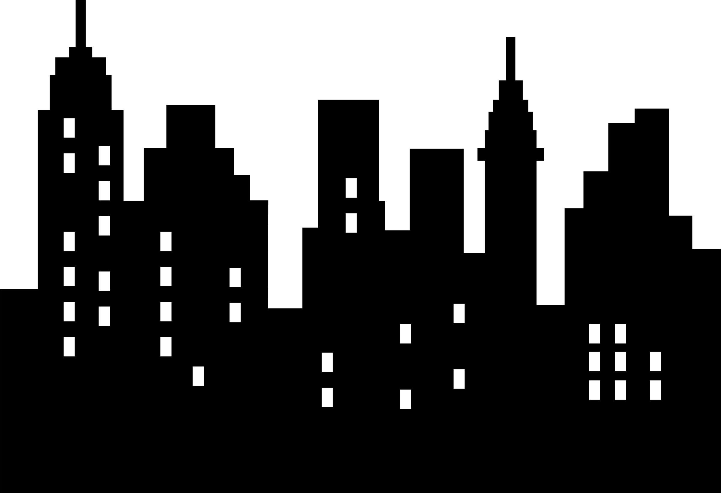 Download 2,400×1,639 Pixels   Superhero Party In 2018   Pinterest - Free Printable Superhero Skyline