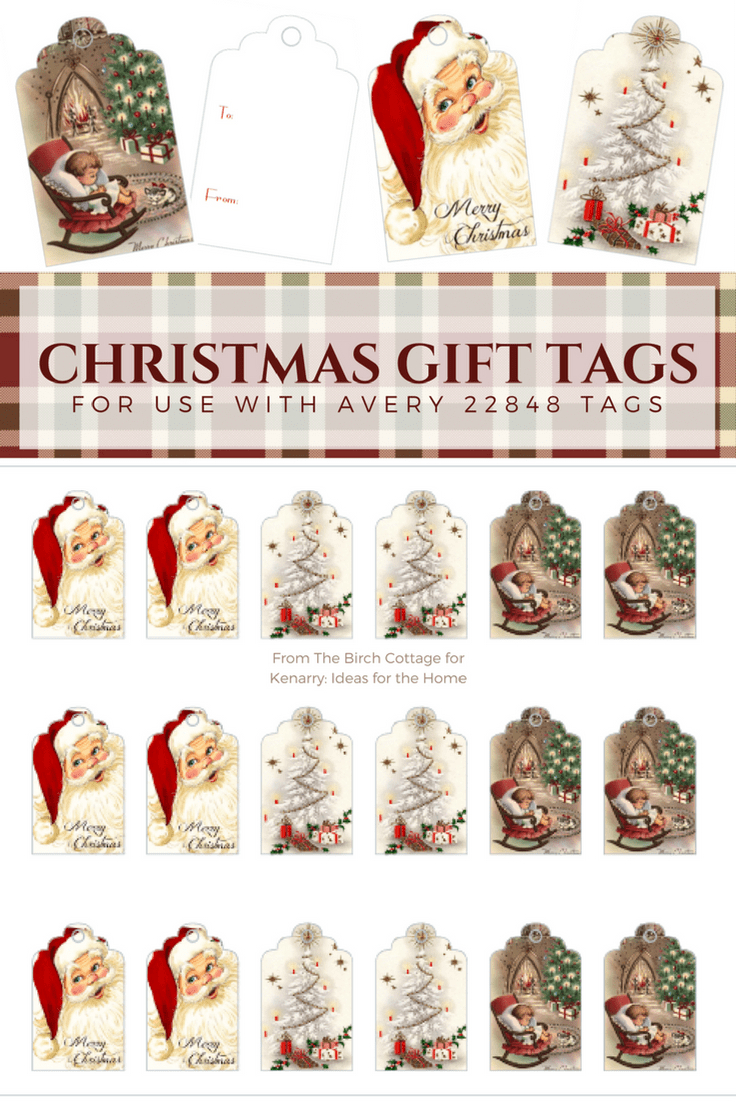 Download Free Printable Vintage Christmas Gift Tags For Holiday Wrapping - Free Printable Vintage Christmas Tags For Gifts
