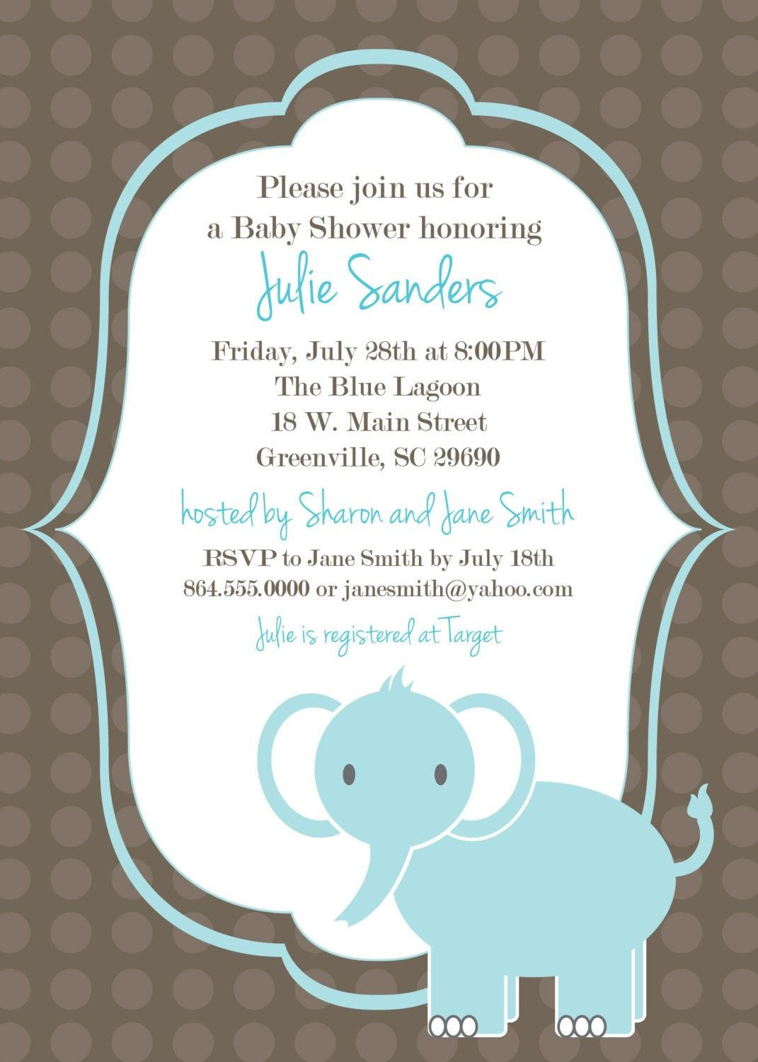 Download Free Template Got The Free Baby Shower Invitations - Free Printable Baby Shower Invitations