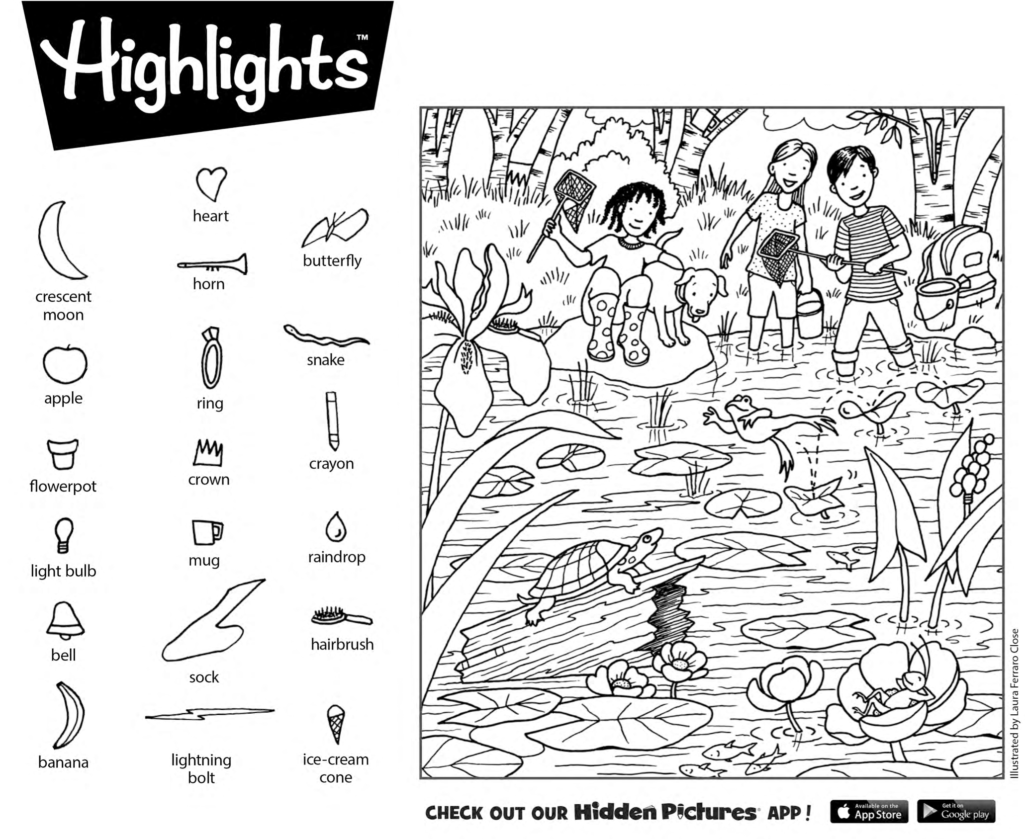 Download This Free Printable Hidden Pictures Puzzle From Highlights - Free Printable Highlights Hidden Pictures