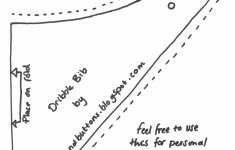 Dribble Bib Pattern.pdf - Google Drive | Sewing For Beginners | Bib - Free Printable Baby Bandana Bib Pattern