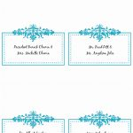 √ 9 Table Place Cards Template Word Rawoz   Free Printable Place Cards Template