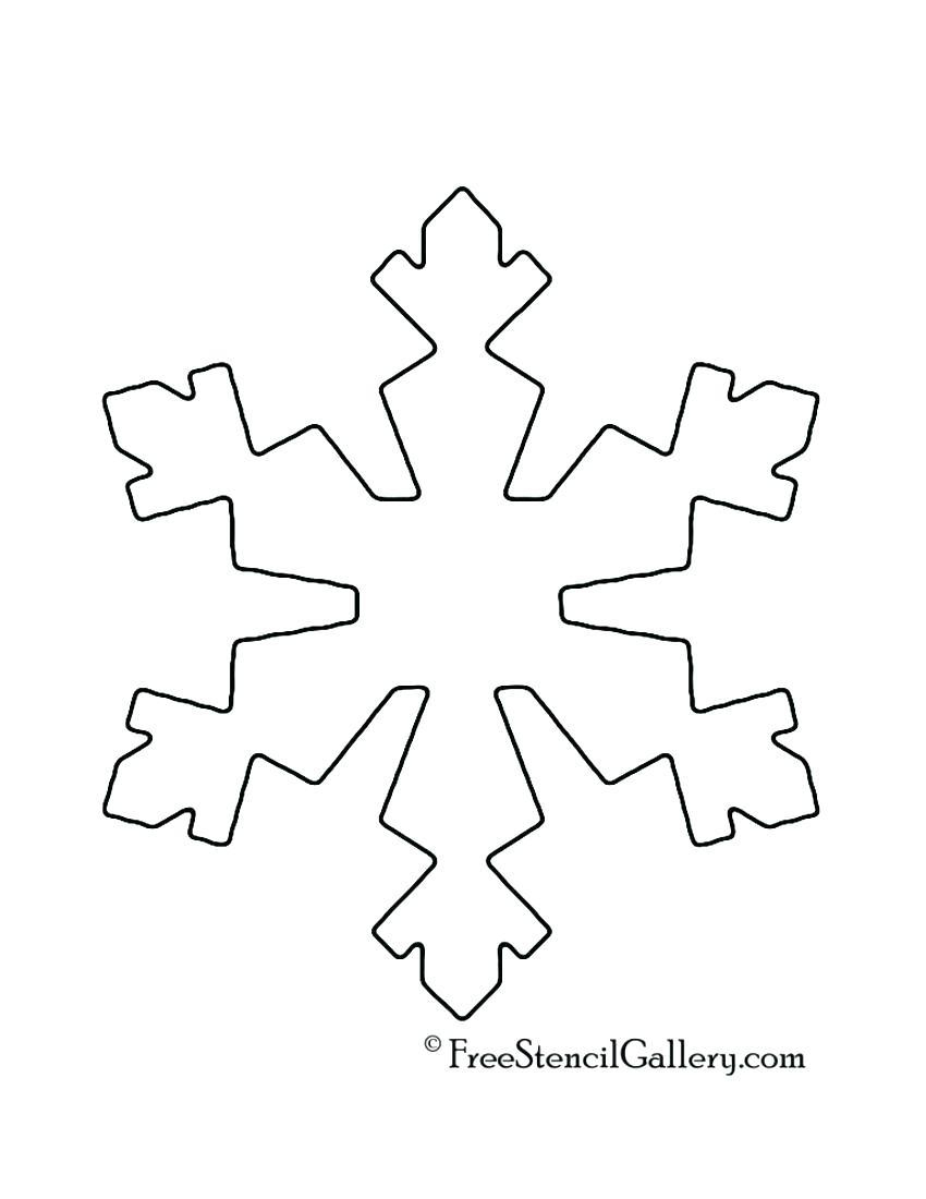 √ Free Snowflake Templates Word | 27 Images Of Snow Backgrounds For - Snowflake Template Free Printable