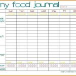 √ Weekly Calorie Counter Chart Printable Pictures To Pin On   Free Printable Calorie Counter Sheet