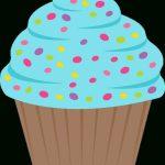 ○••°‿✿⁀Cupcakes‿✿⁀°••○ | Cumple 30 Aniversario Cole   Free Printable Cupcake Clipart