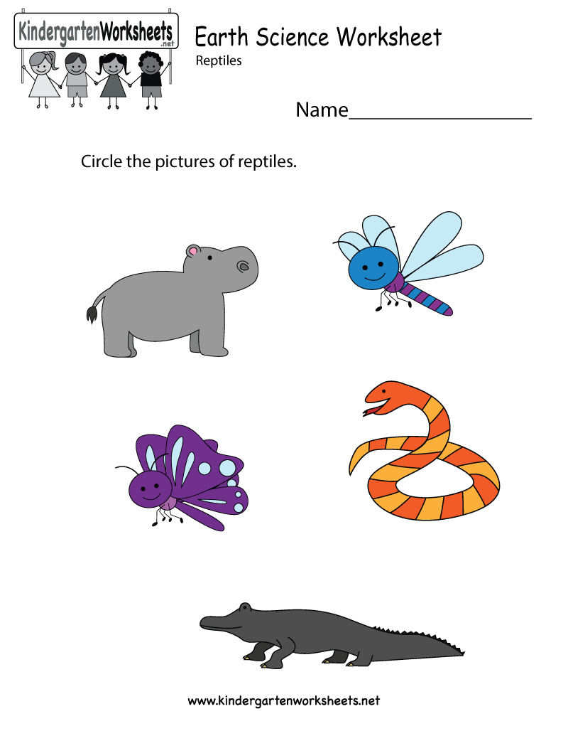 Earth Science Worksheet - Free Kindergarten Learning Worksheet For Kids - Free Printable Worksheets For Kids Science