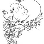 Easter Chick Coloring Page | Free Printable Coloring Pages   Free Printable Easter Baby Chick Coloring Pages