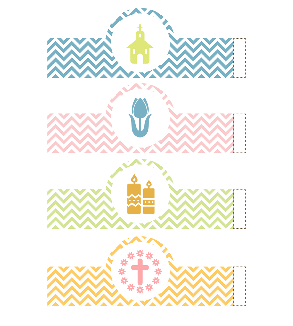 Easter Egg Wrappers And Easter Egg Basket Free Printables - Onion - Free Printable Easter Decorations