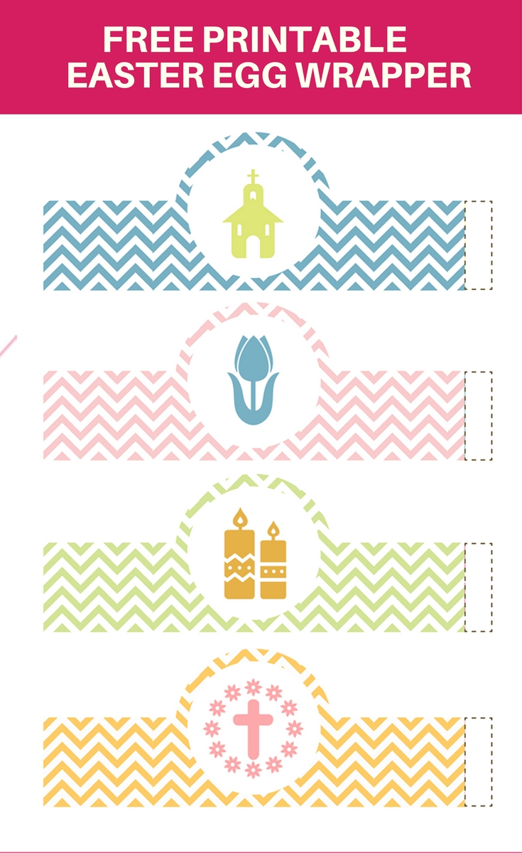 Easter Egg Wrappers And Easter Egg Basket Free Printables - Onion - Free Printable Easter Stuff