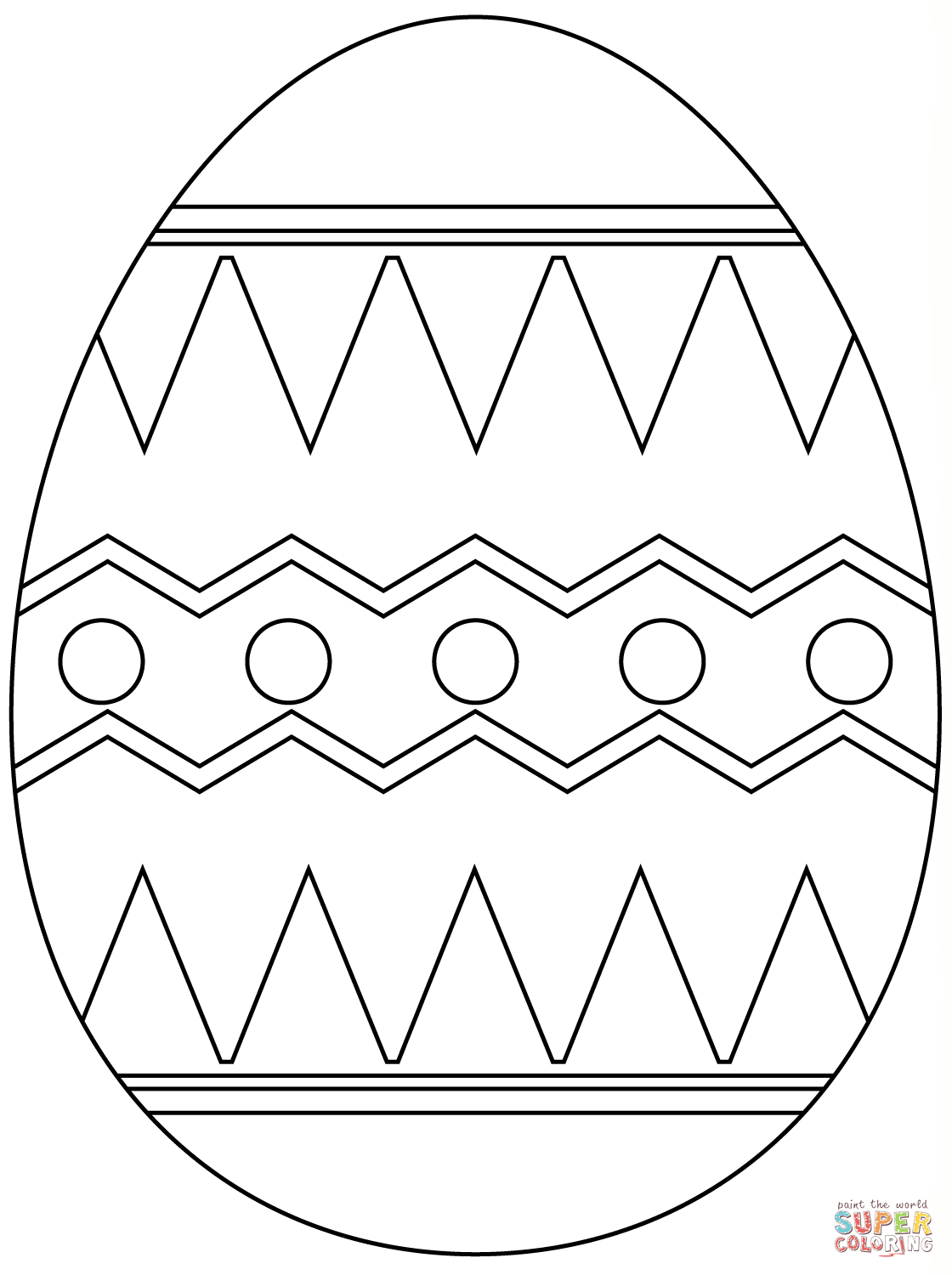 Easter Eggs Coloring Pages | Free Coloring Pages - Free Printable Easter Stuff