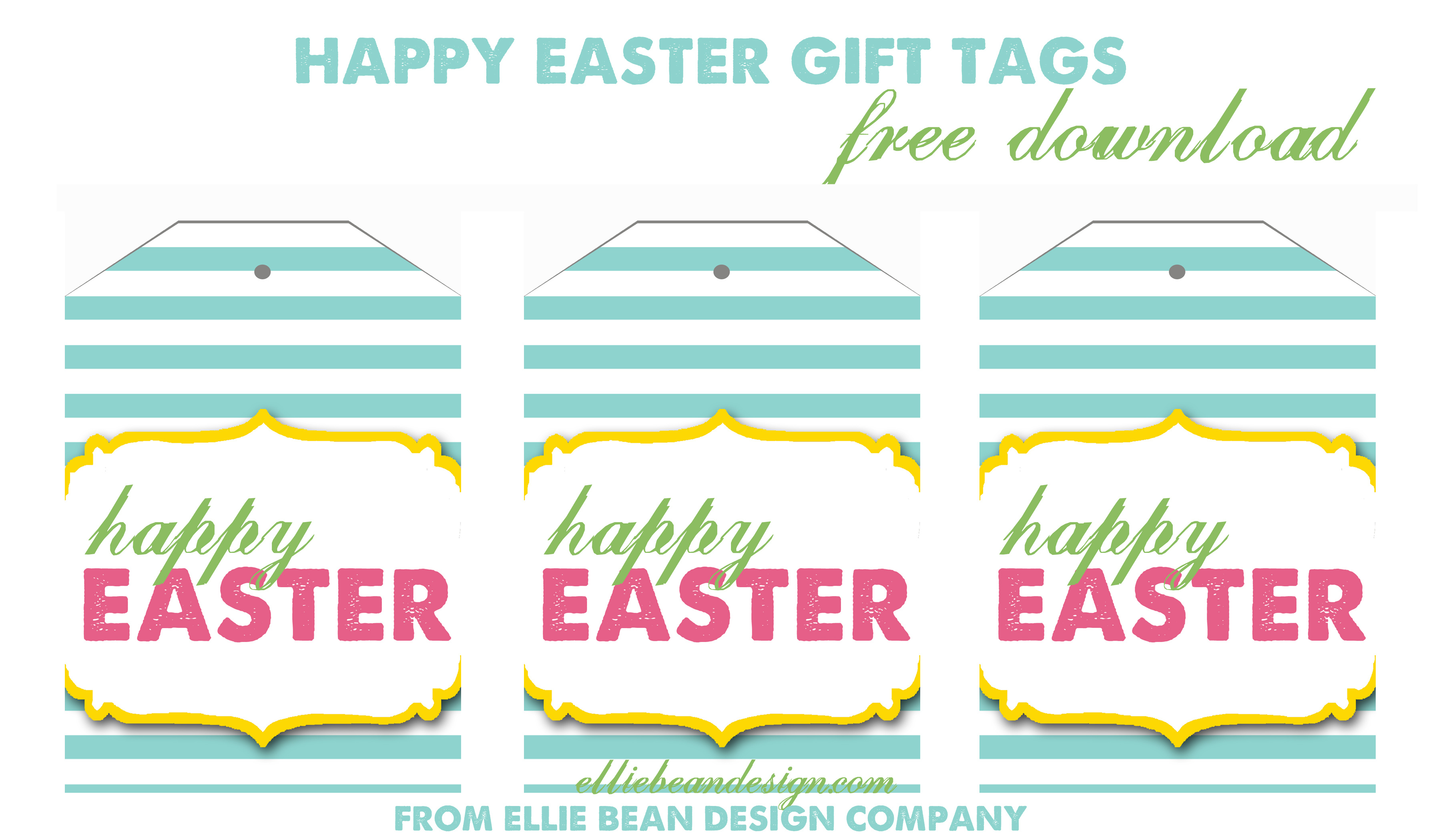 Easter Name Tags To Print – Festival Collections - Free Easter Name Tags Printable