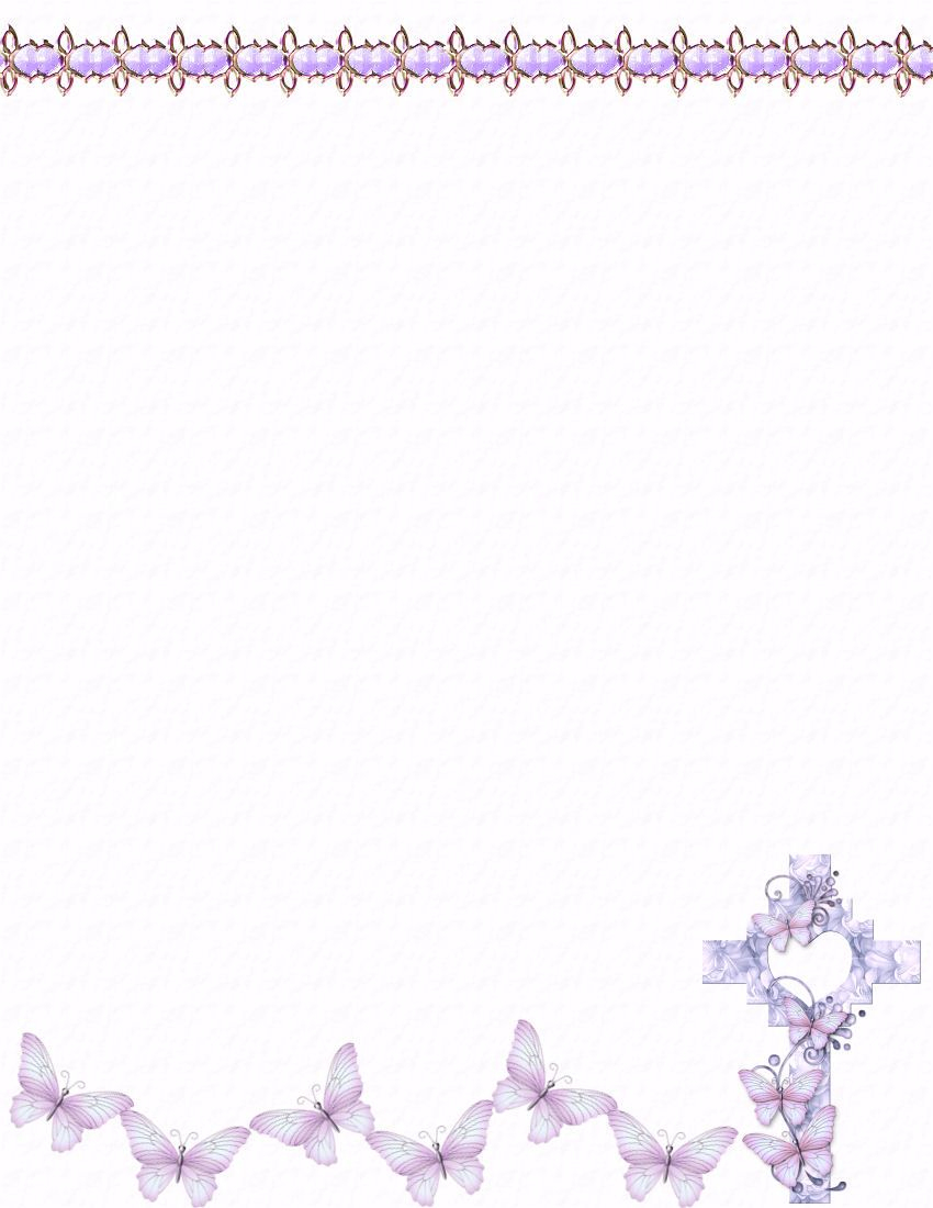 Easter Stationery | Easterstationery Theme Free Digital Stationery - Free Printable Easter Stationery
