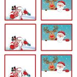 Easy Free Letter From Santa Magical Package | Christmas | Christmas   Free Printable Gift Name Tags