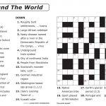 Easy Printable Crossword Puzzles | Elder Care & Dementia Care – Free Printable I Spy Puzzles