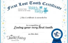 Easy Tooth Fairy Ideas & Tips For Parents / Free Printables - Free Printable First Lost Tooth Certificate