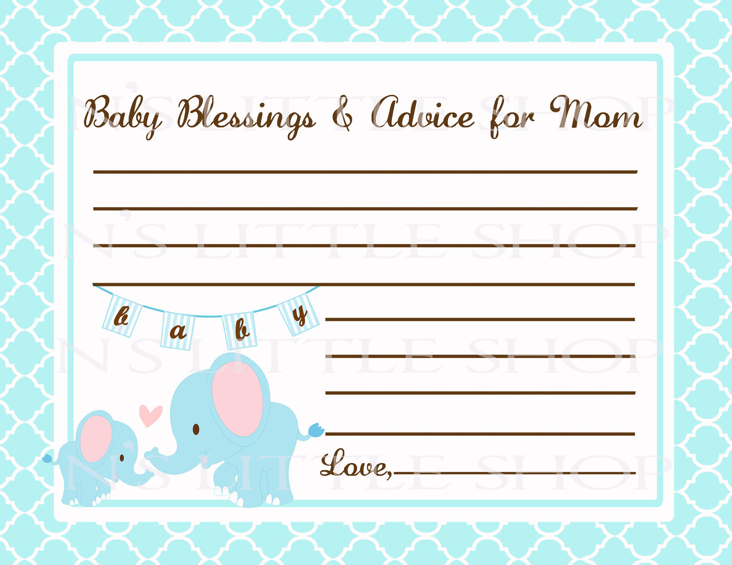 Editable Free Printable Baby Registry Cards To Baby Shower Welcome - Free Printable Baby Registry Cards