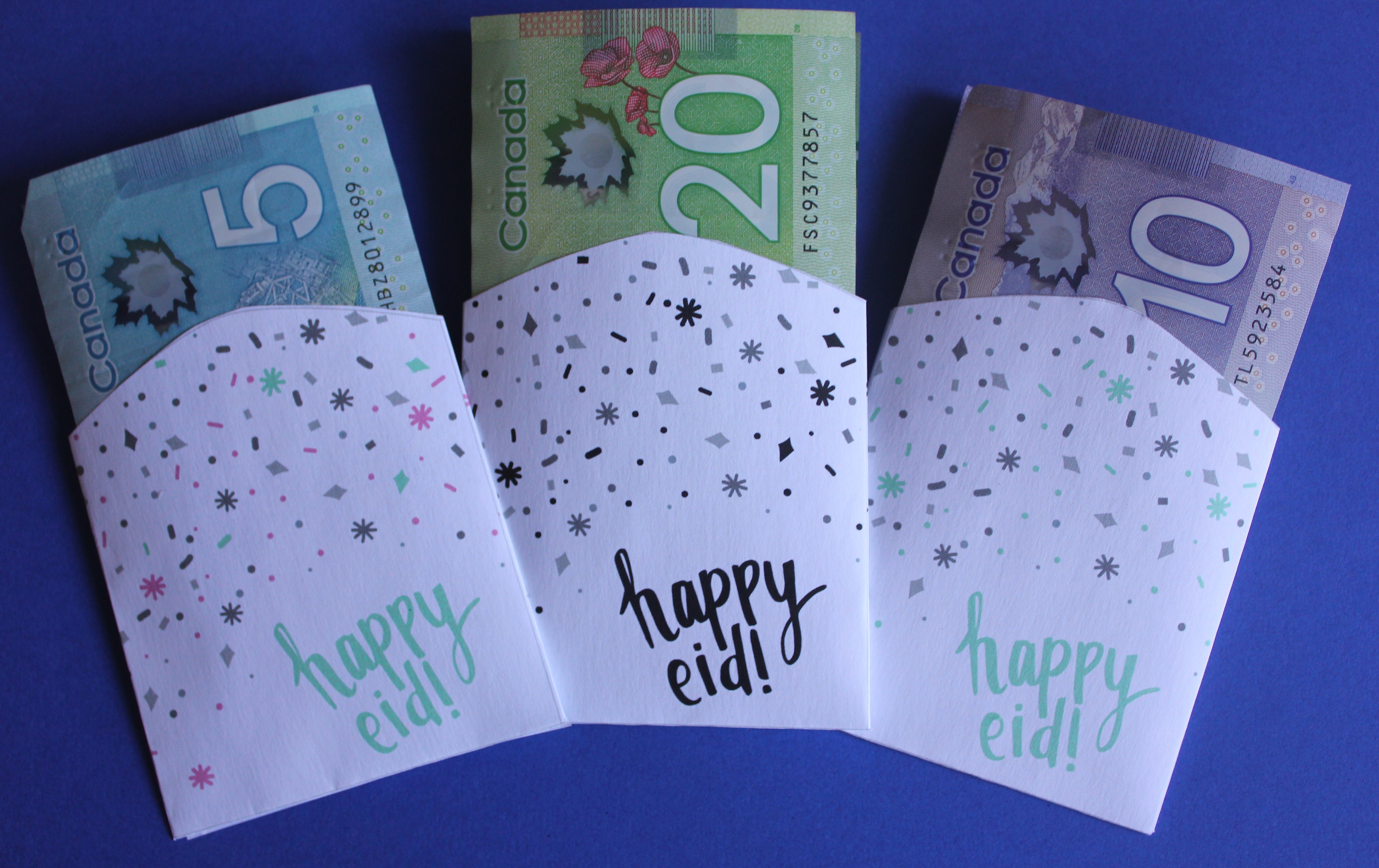 Eid Money Envelopes - Free Printables - Honey Lemon Events - Free Printable Money Envelopes