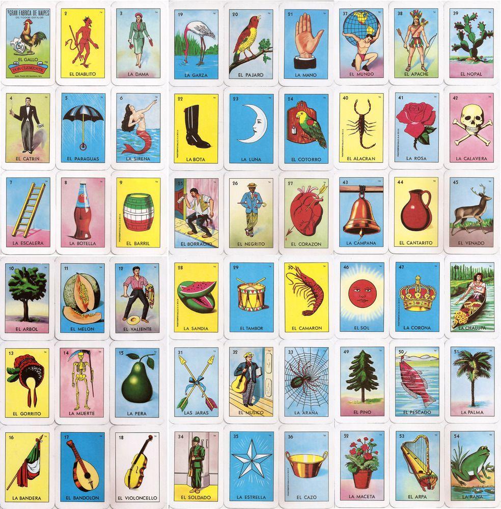 El Corazon Loteria Card | Home Makeover | Pinterest | Loteria Cards - Free Printable Loteria Cards