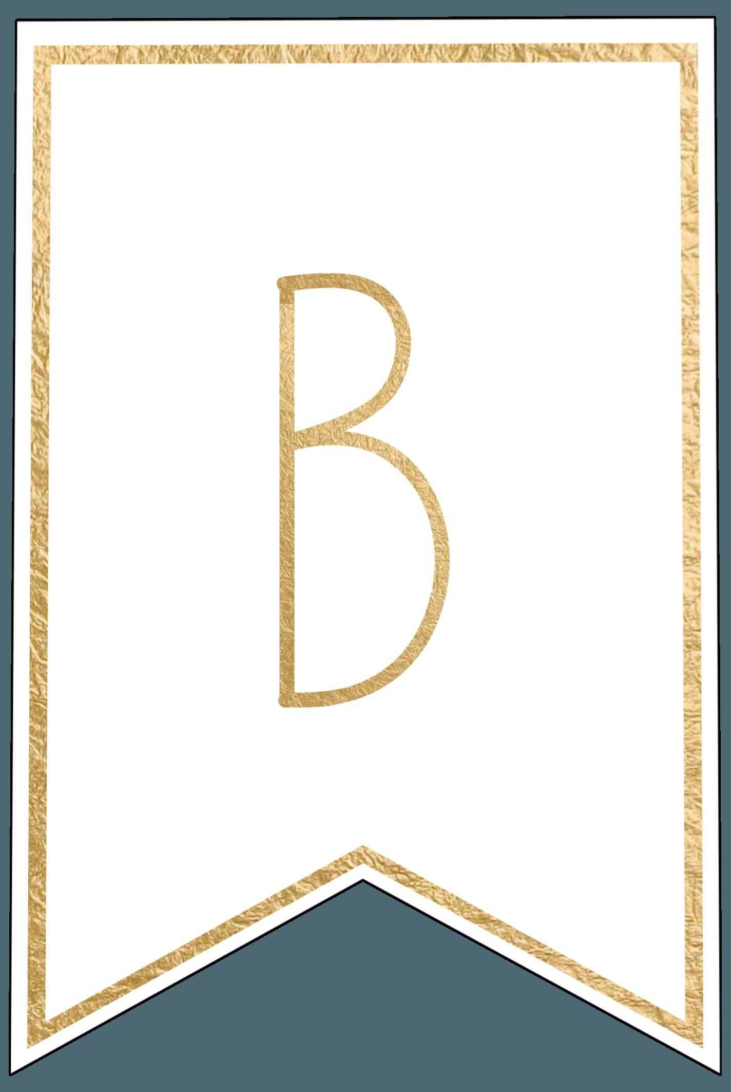 Elegant Free Printable Banner Letters | Www.pantry-Magic - Printable Banner Letters Template Free