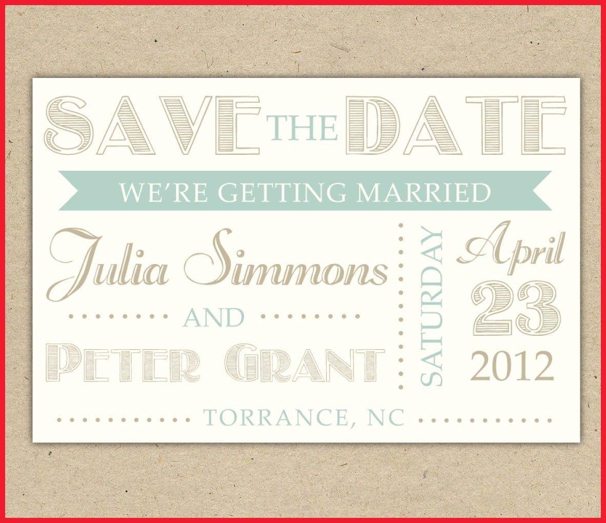 Elegant Free Printable Save The Date Invitation Templates Image Of - Free Printable Save The Date Invitation Templates