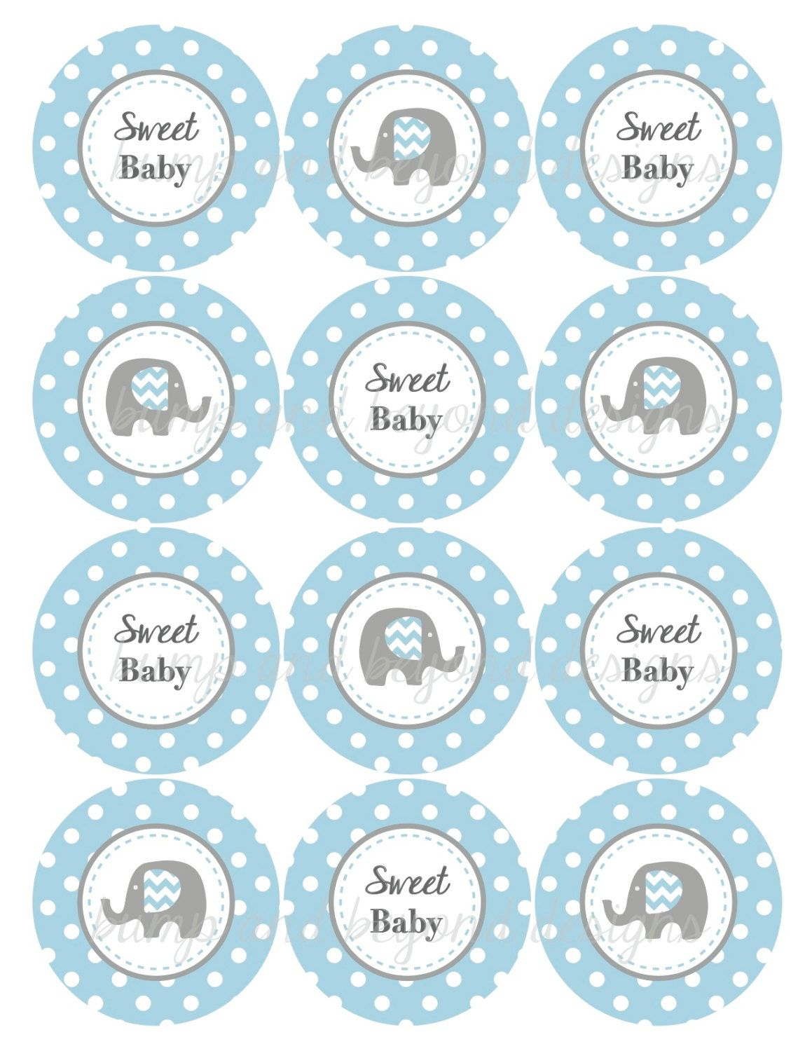 Elephant Baby Shower Ideas For A Boy - Google Search | Stuff To Buy - Free Printable Elephant Baby Shower