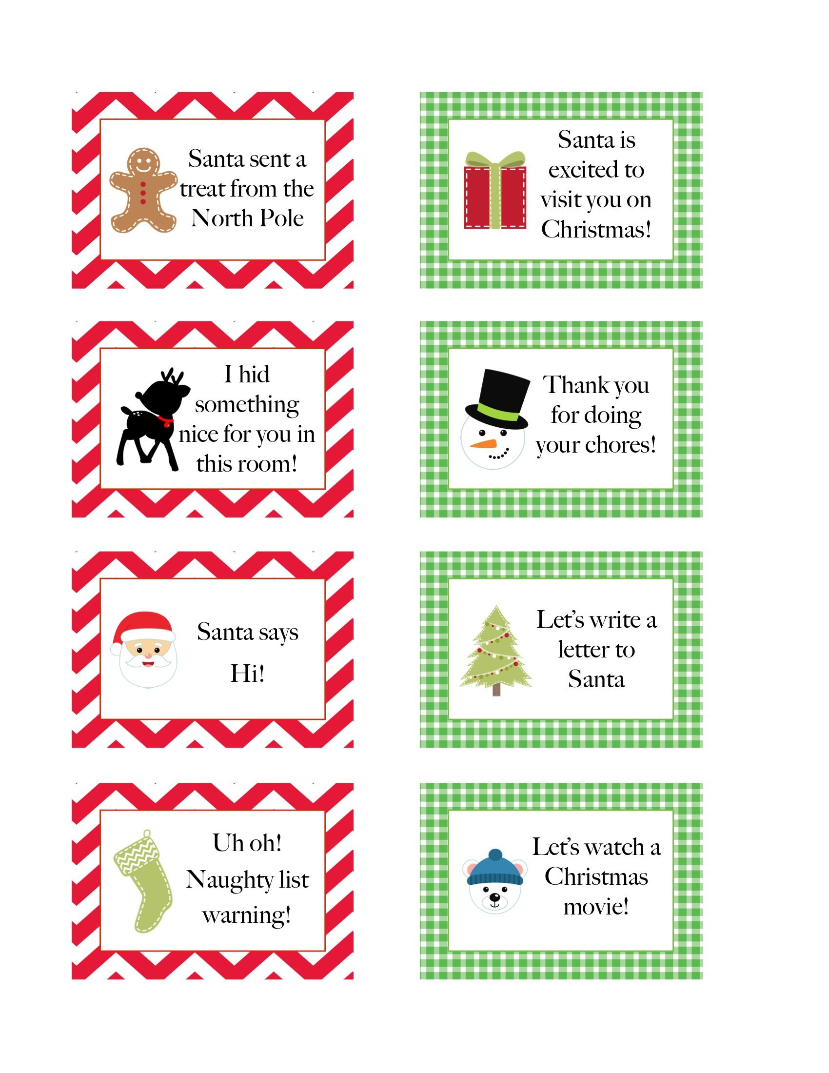 Elf On The Shelf Free Printables | Click Here To Get The Free - Free Printable Elf On The Shelf Notes