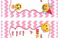 Emoji Birthday Invitations   Birthday Printable - Emoji Invitations Printable Free