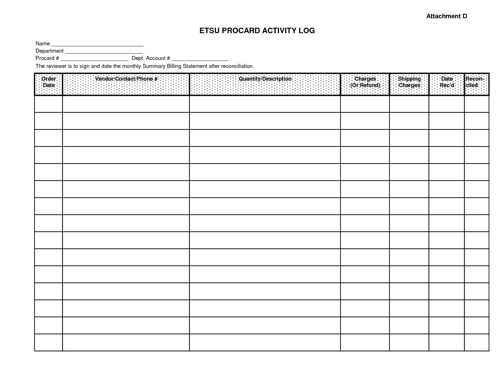 Excellent Monthly Bill Organizer And Spending Activity Log Excel - Free Printable Bill Planner