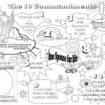 Exquisite Free Printable Ten Commandments Coloring Pages Do Not   Free Printable Ten Commandments Coloring Pages