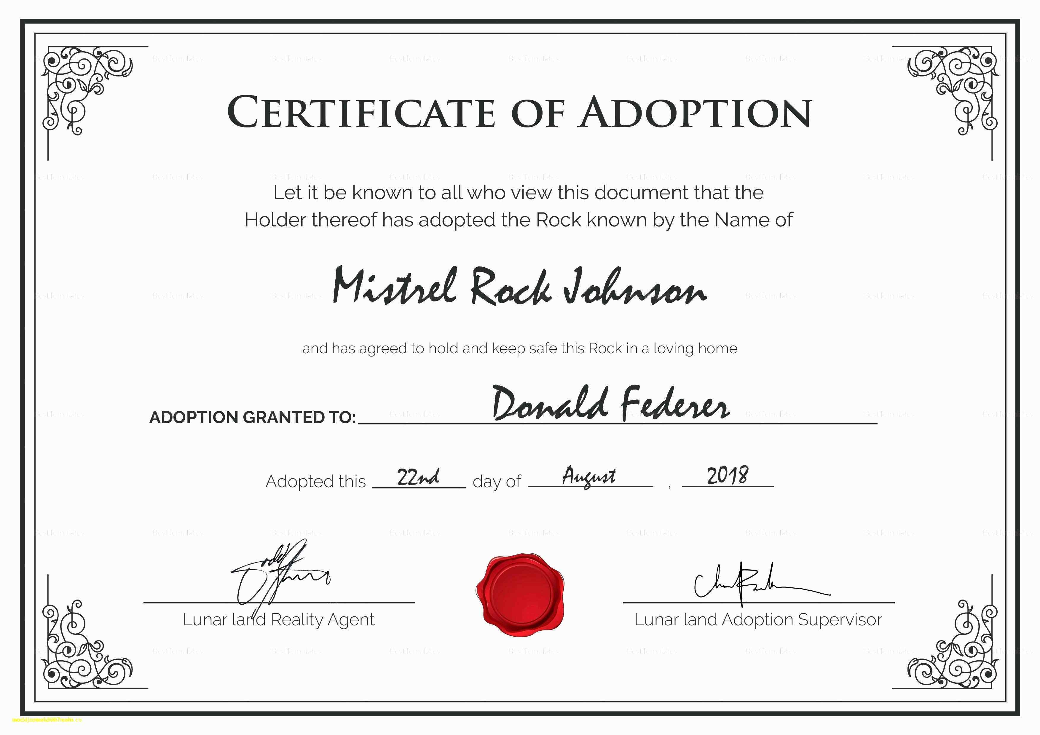 Fake Medical Certificate Template Lovely 25 Lovely Pics Fake - Fake Adoption Certificate Free Printable