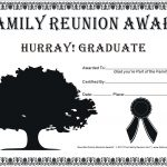 Family Reunion Certificates   Hope Tree 16 Is A Free Family Reunion   Free Printable Family Reunion Awards