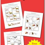 Farm Animals Sudoku Puzzles {Free Printables}   Gift Of Curiosity   Free Printable Critical Thinking Puzzles