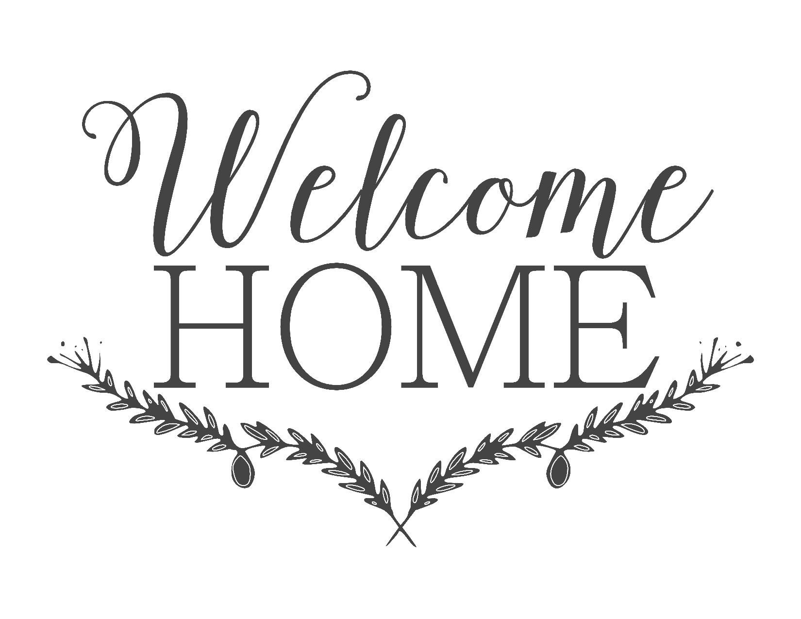 Farmhouse Free Printable Set-Gather-Choose Joy-Welcome Home | ~For - Free Printable Welcome Cards