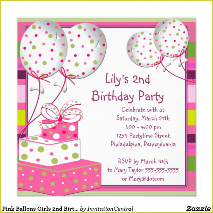 Free Printable Polka Dot Birthday Party Invitations