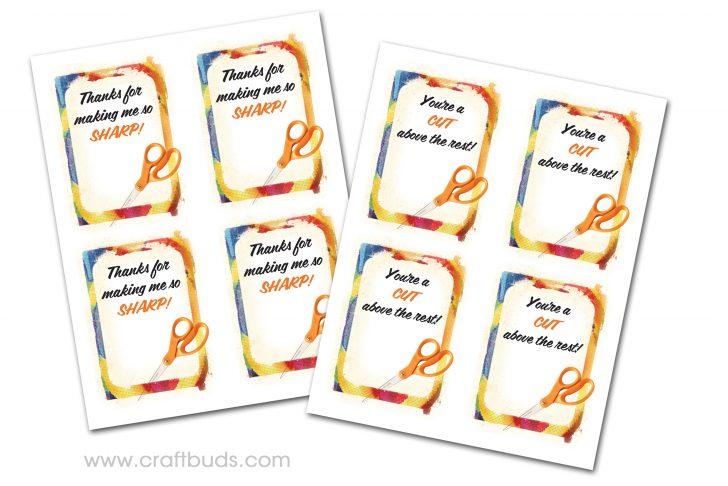 Free Printable Tags For Teacher Appreciation