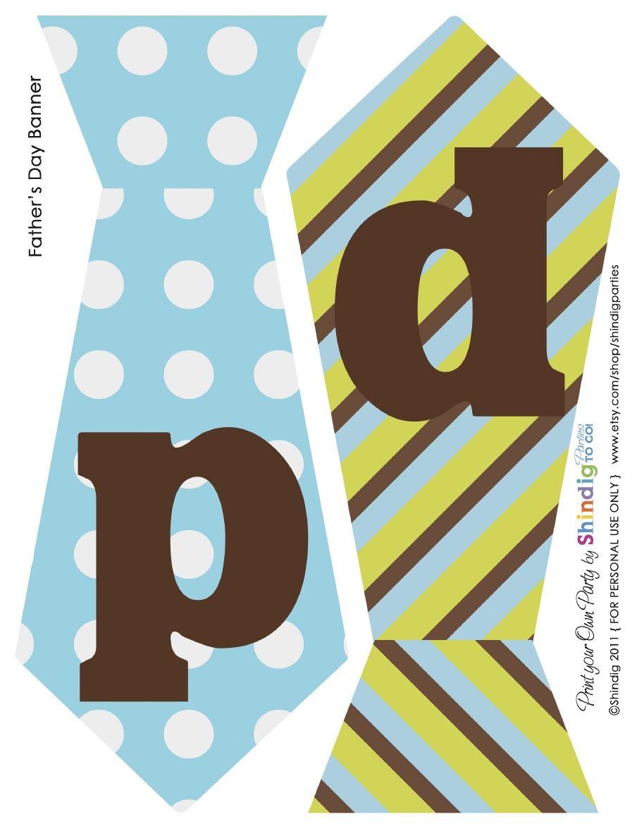 Fathers Day Free Printable | Printables | Pinterest | Fathers Day - Free Printable Fathers Day Banners