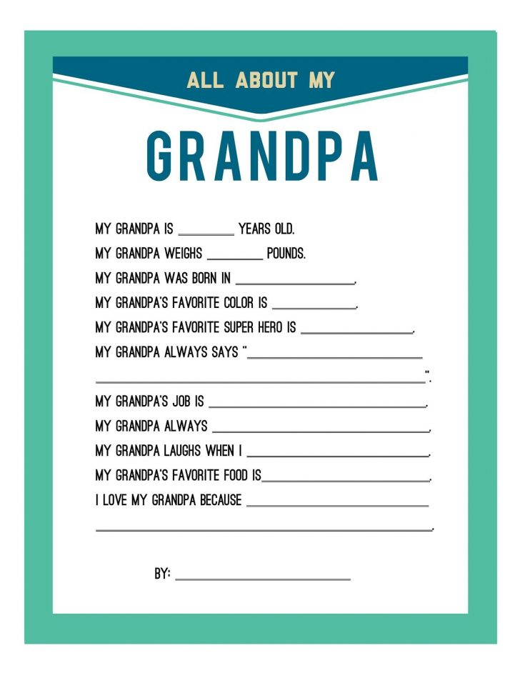 Free Printable Happy Fathers Day Grandpa Cards