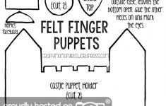 Felt Finger Puppets {Free Printable Template} | Crafty Mom Of Girls - Free Printable Finger Puppet Templates