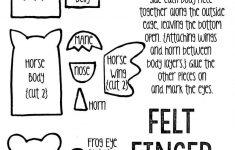 Felt Finger Puppets {Free Printable Template}   Finger Puppets - Free Printable Finger Puppet Templates