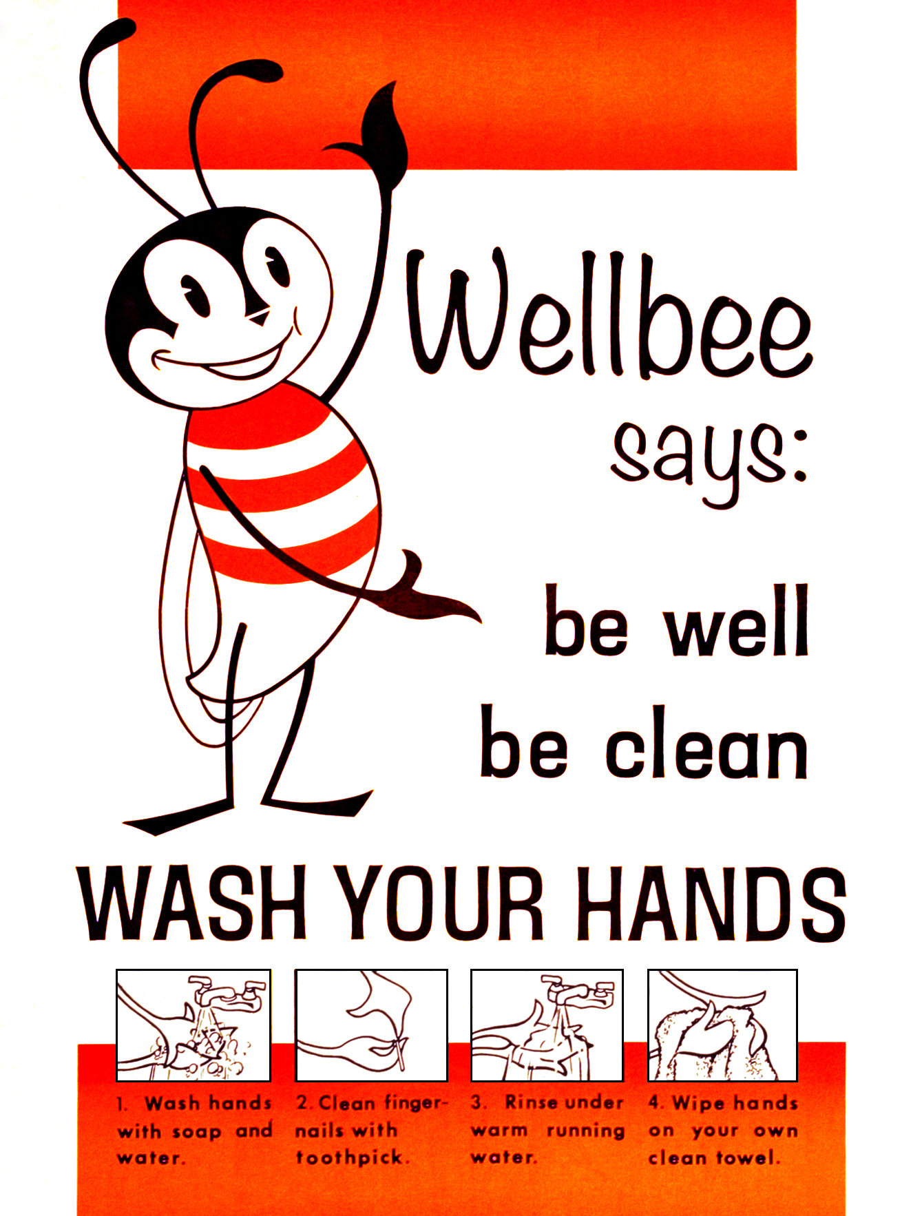 File:wash Your Hands Poster Cdc - Wellbee - Wikimedia Commons - Free Printable Hand Washing Posters