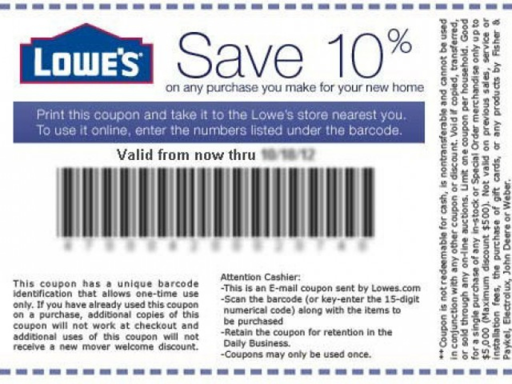 Finding Lowes Coupons Printable Online | Coupon Codes Blog Intended - Free Printable Lowes Coupons