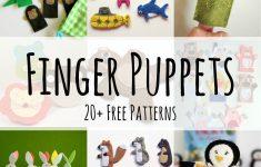 Finger Puppet: Free Felt Patterns - Felt With Love Designs - Free Printable Finger Puppet Templates