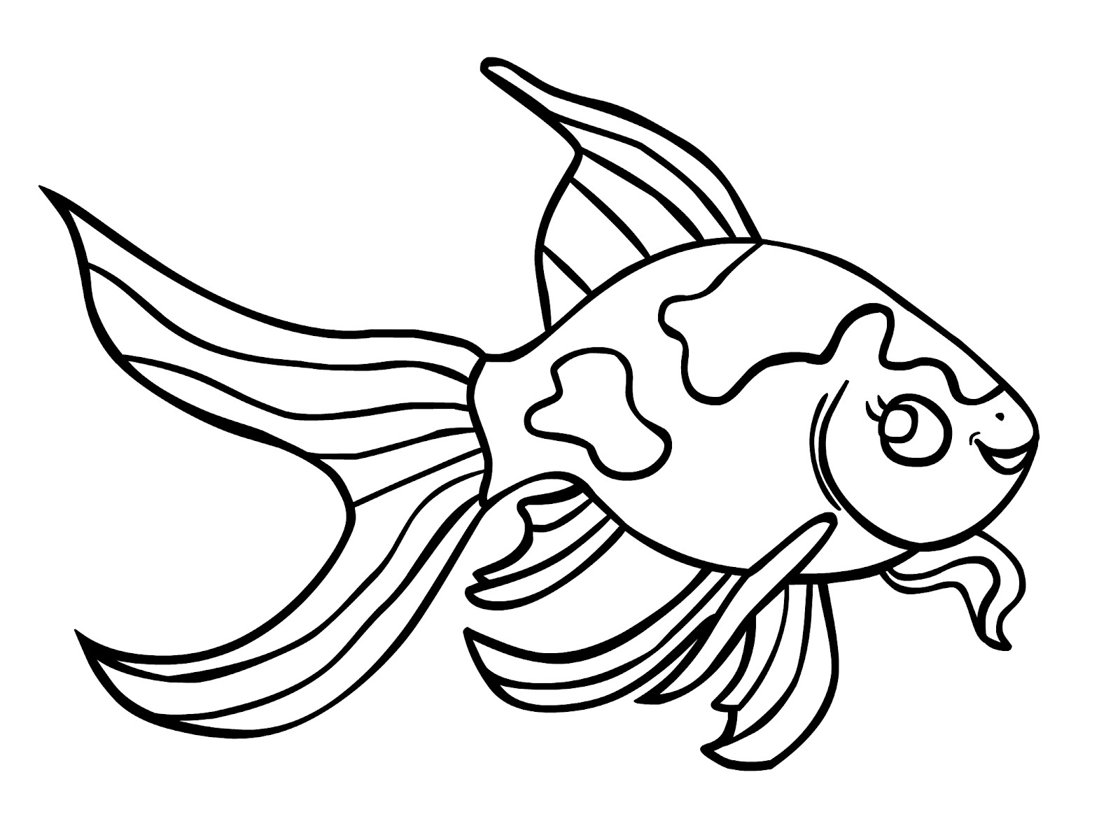 Fish Coloring Pages Free Printable | Coloring Pages - Free Printable Fish Coloring Pages