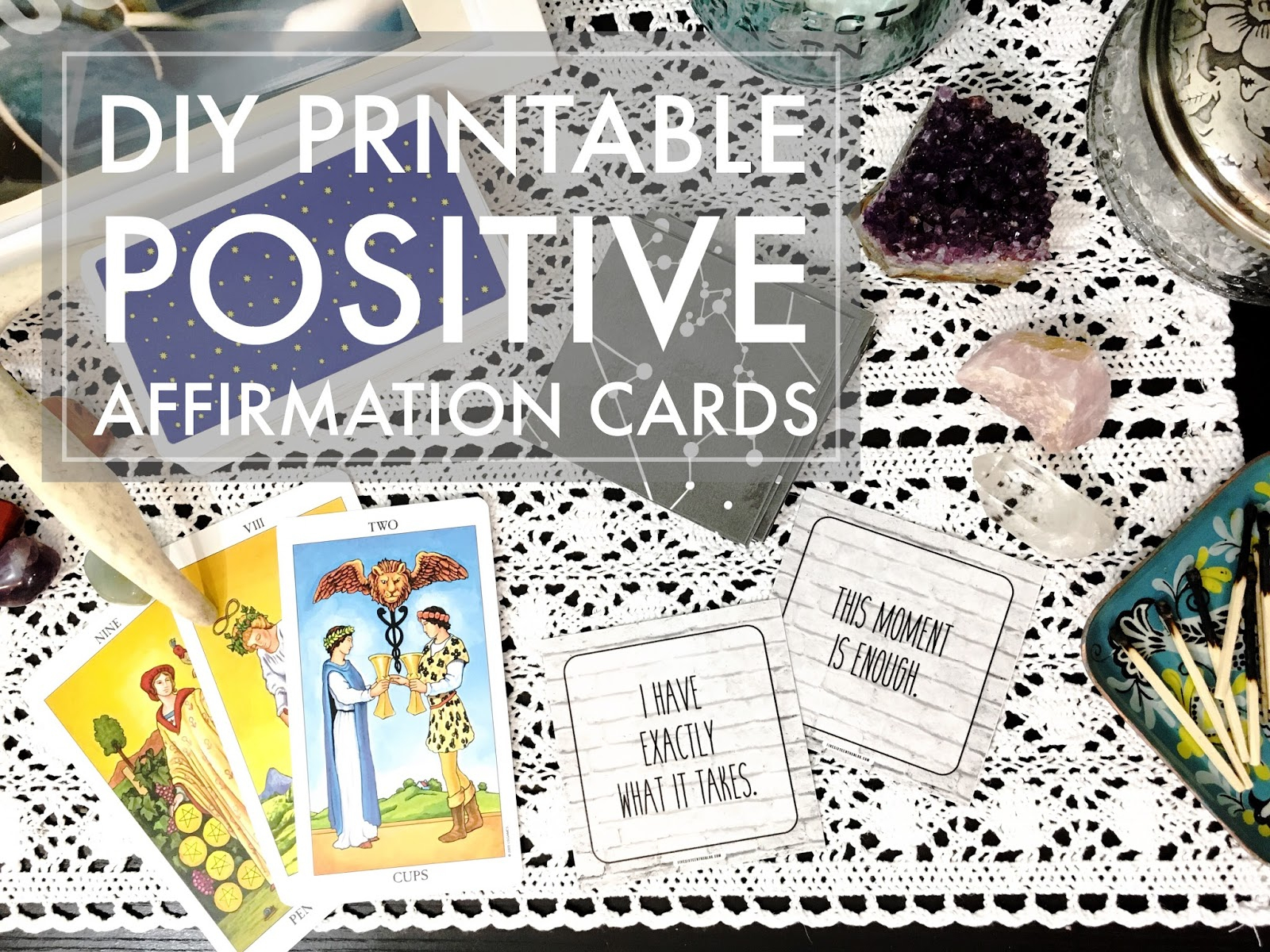 Five Sixteenths Blog: Make It Monday // Printable Positive - Free Printable Positive Affirmation Cards